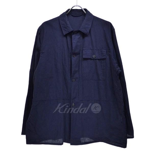 【中古】COMOLI 2018SS ベタシャン ミリタリー シャツジャケット 【送料無料】 【004034】 【KIND1550】