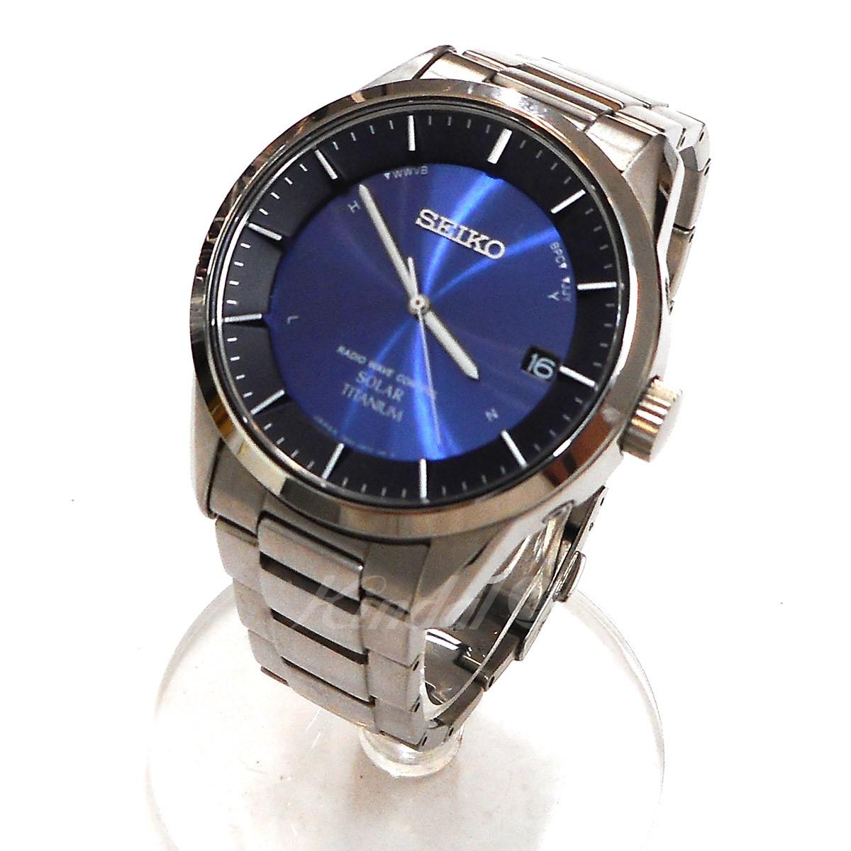 【中古】SEIKO スピリット ソーラー腕時計 【送料無料】 【005236】 【KIND1550】