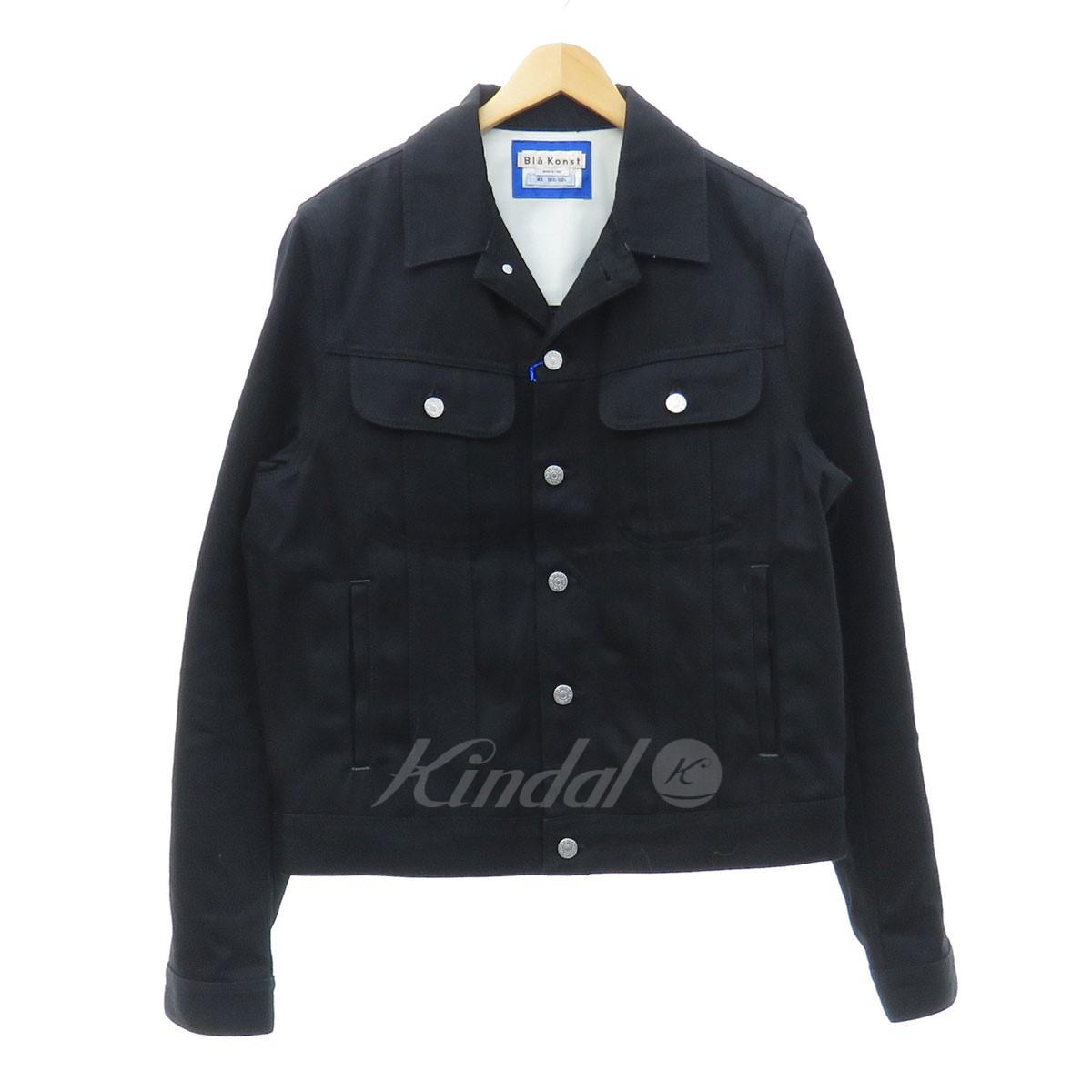 Acne Black Denim Jacket kindal: acne studios bla konst tent blk blk 22j165 denim jacket