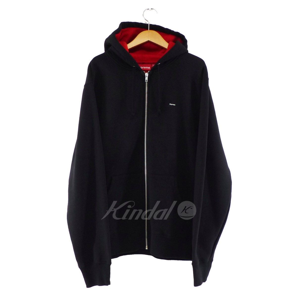 【中古】SUPREME 2018SS Contrast Zip Up Hooded Sweatshirt 【送料無料】 【154577】 【KIND1550】