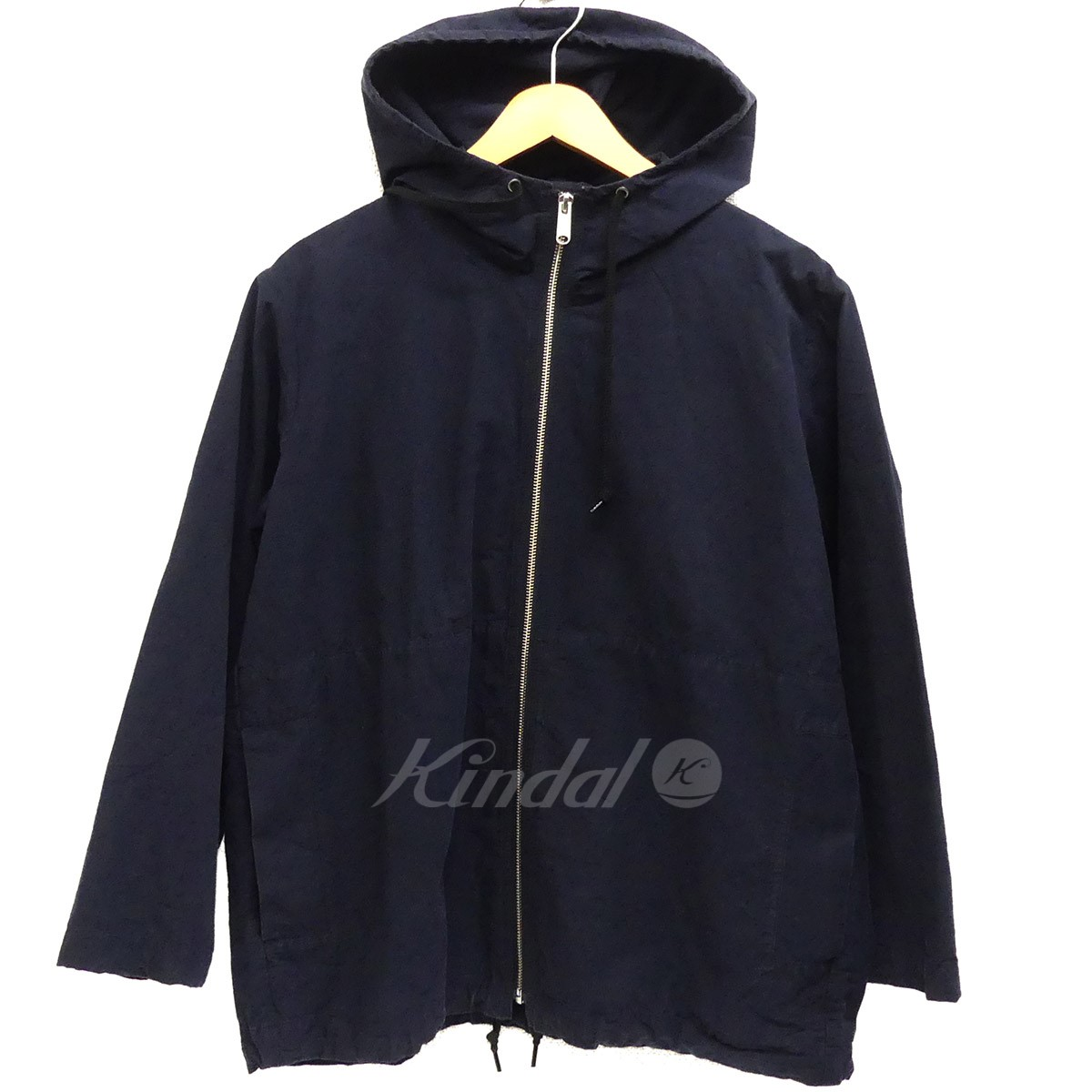【中古】MHL. WASHED COTTON POPLIN ジップパーカー 【送料無料】 【150832】 【KIND1550】