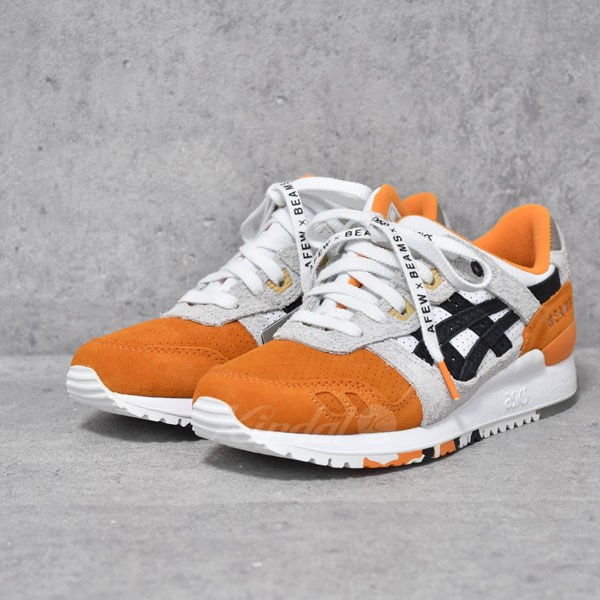 【中古】ASICS Tiger × AFEW × BEAMS スニーカー GEL-LYTE III 【送料無料】 【275760】 【KIND1550】