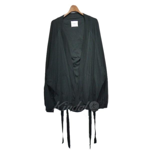 【中古】TAKAHIROMIYASHITA TheSoloIst. 2017SS 「sleeping bag shaped haori」カーディガン 【送料無料】 【120457】 【KIND1550】