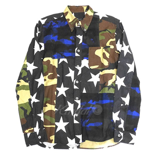 【中古】SOPHNET. 2015AW MULTI MIX FLANNEL B.D シャツ 【送料無料】 【010019】 【KIND1550】