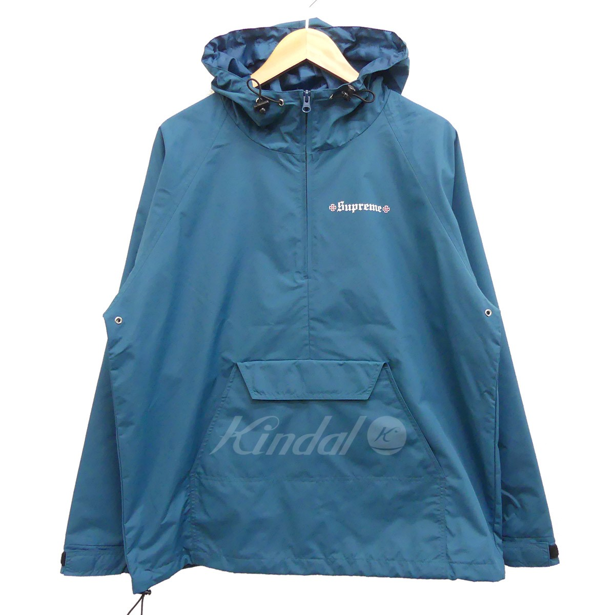 【中古】Supreme x Independent Nylon Anoral 2017AW ナイロンアノラック 【送料無料】 【073452】 【KIND1550】