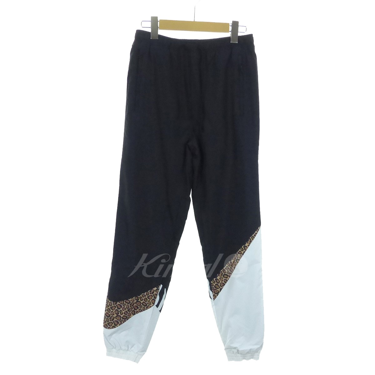 7d9c71d654c2 kindal  KITH X NIKE BIG SWOOSH PANTS animal pattern trackpants ...