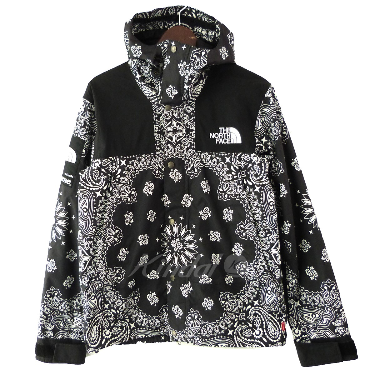 【中古】Supreme×THE NORTH FACE 14AW 「Bandana Mountain Parka」バンダナマウンテンパーカー 【送料無料】 【153836】 【KIND1550】
