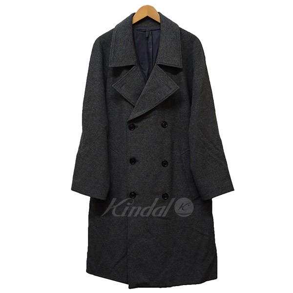 【中古】UNUSED 2014AW double overcoat ビックシルエット コート 【送料無料】 【001074】 【KIND1641】
