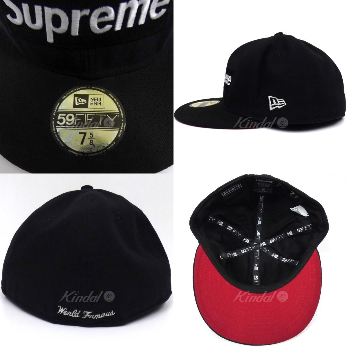 54cee0cf7db Supreme X NEW ERA 13AW GORE-TEX Box Logo new Era Cap Gore-Tex box logo cap  black size  7 5 8(60.6cm) (シュプリームニューエラ)