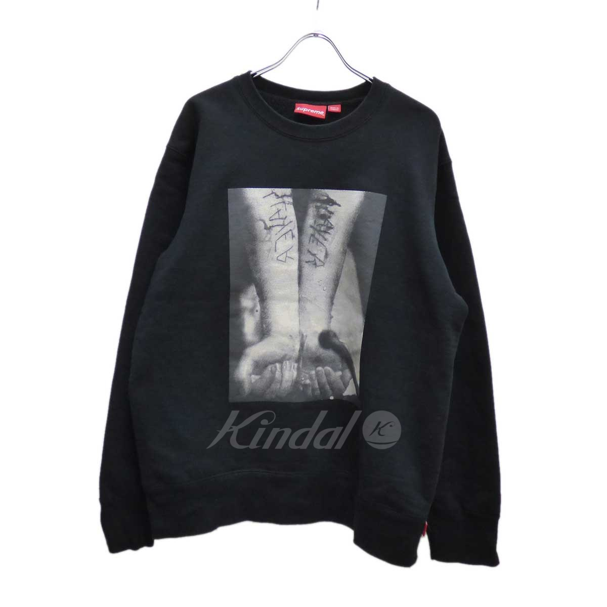 【中古】SUPREME Slayer Cutter Crewneck スウェット 【送料無料】 【174805】 【KIND1550】