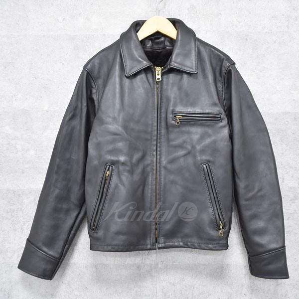 【中古】SCHOTT シングルライダースジャケット 【送料無料】 【132841】 【KIND1550】