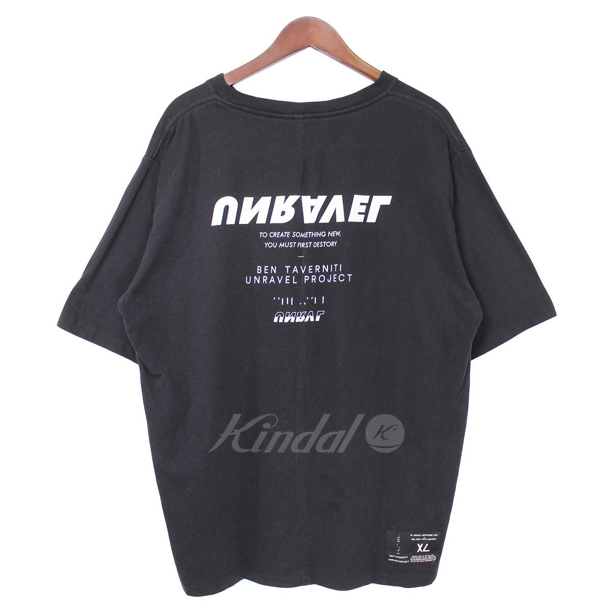 【中古】BEN TAVERNITI UNRAVEL PROJECT バックロゴTシャツ 【送料無料】 【007640】 【KIND1550】