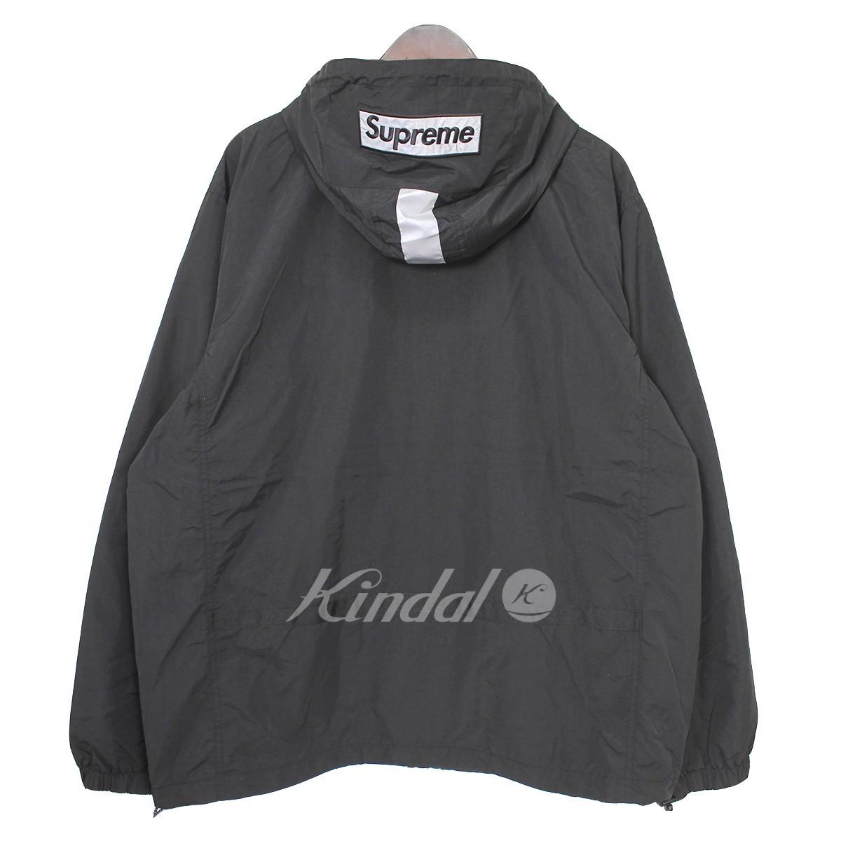 【中古】SUPREME 18AW 2-Tone Zip Up Jacket フードロゴジップアップジャケット 【送料無料】 【007886】 【KIND1550】