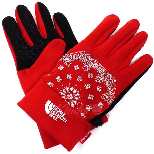 授与 中古 SUPREME 14AW Bandana Etip 毎週更新 KIND1641 Gloveバンダナグローブ 送料無料 004052 手袋