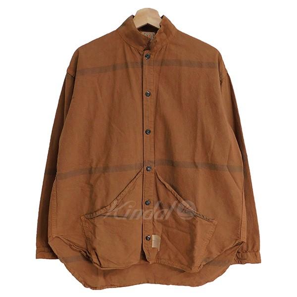 【中古】TENDER Co. 423 Wallaby Pocket Tail Shirt レンガ系 サイズ:4 【251118】(テンダー)