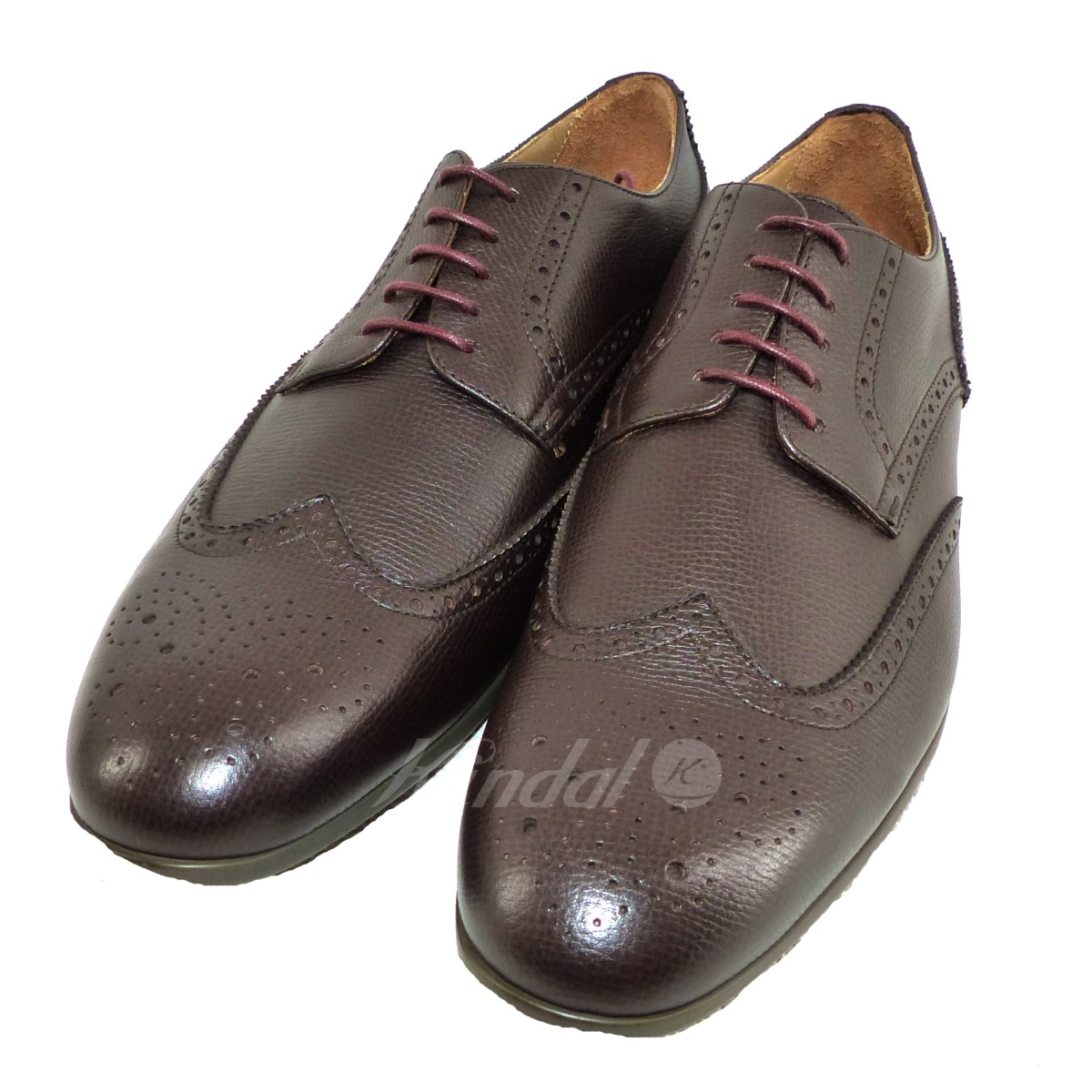 b4283cb5455295 kindal  Paul Smith RYAN wing tip leather shoes brown size  8 (Paul ...