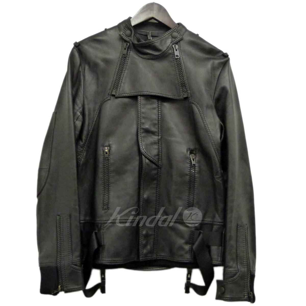 【中古】Dior Homme 07AW アビエイーターレザージャケット 【送料無料】 【086453】 【KIND1550】