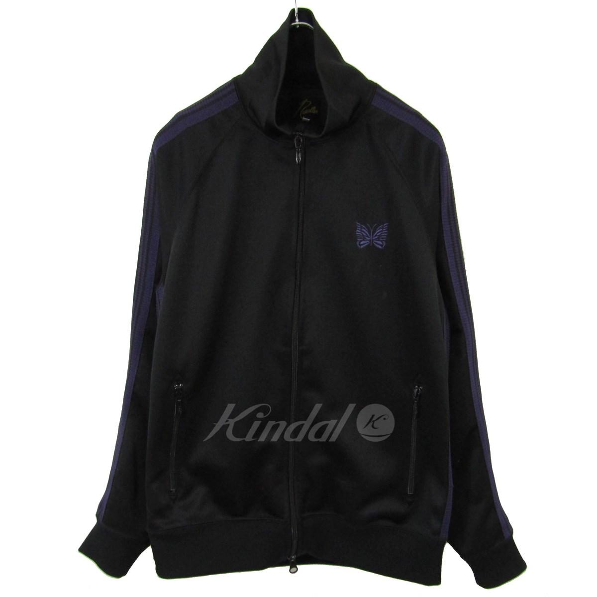 【中古】Needles バタフライ刺繍 トラックジャケット ジャージ 【送料無料】 【042095】 【KIND1550】