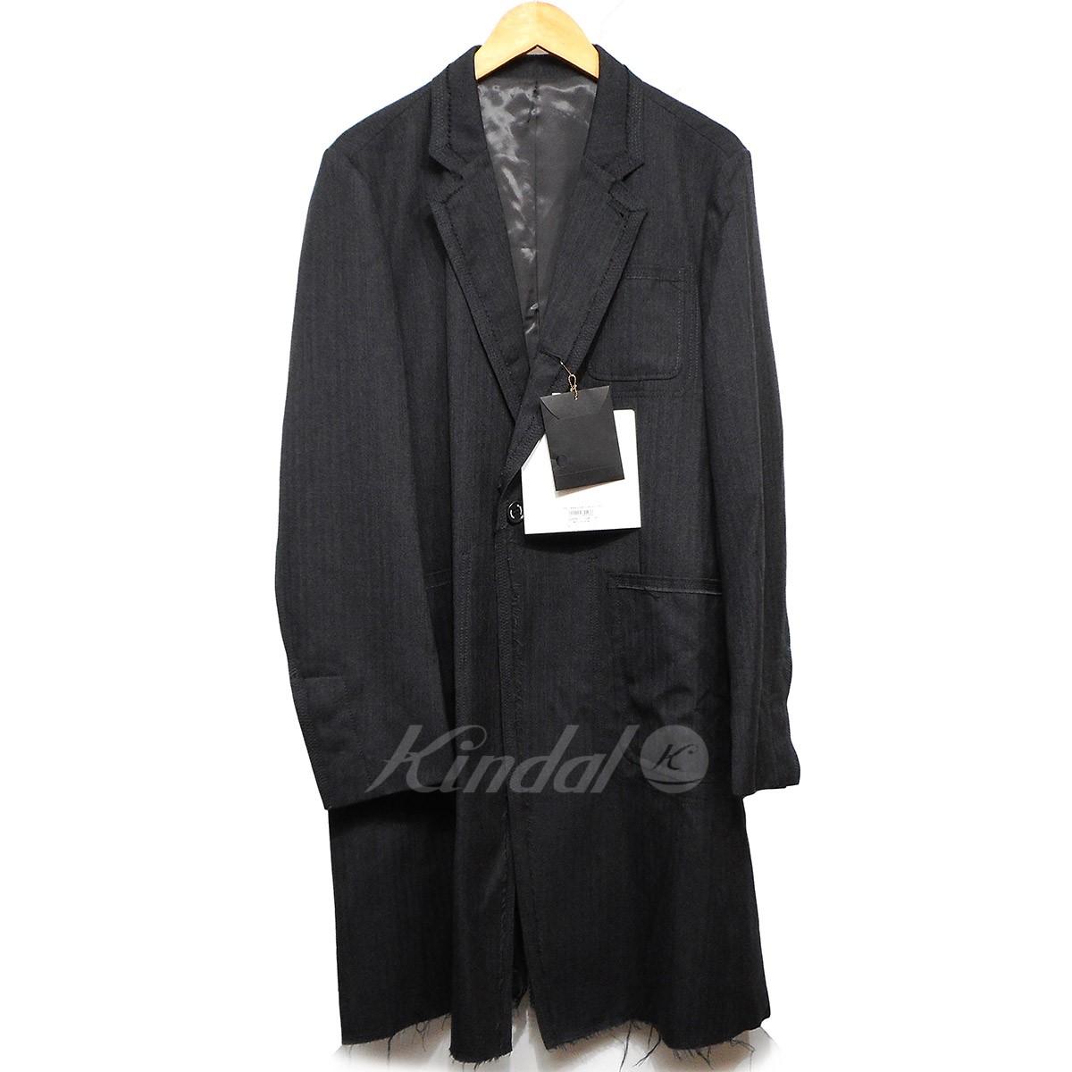 【中古】the Shepherd undercover 16AW Wヘリンボーンロングジャケット 【送料無料】 【006004】 【KIND1550】