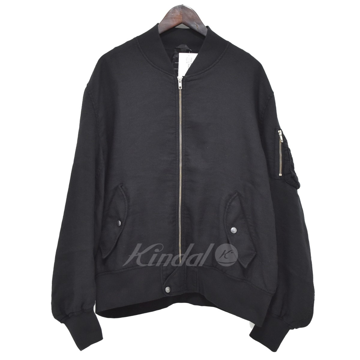 【中古】ART COMES FIRST DYED BOMBER JACKET ボンバージャケット 【送料無料】 【281860】 【KIND1550】