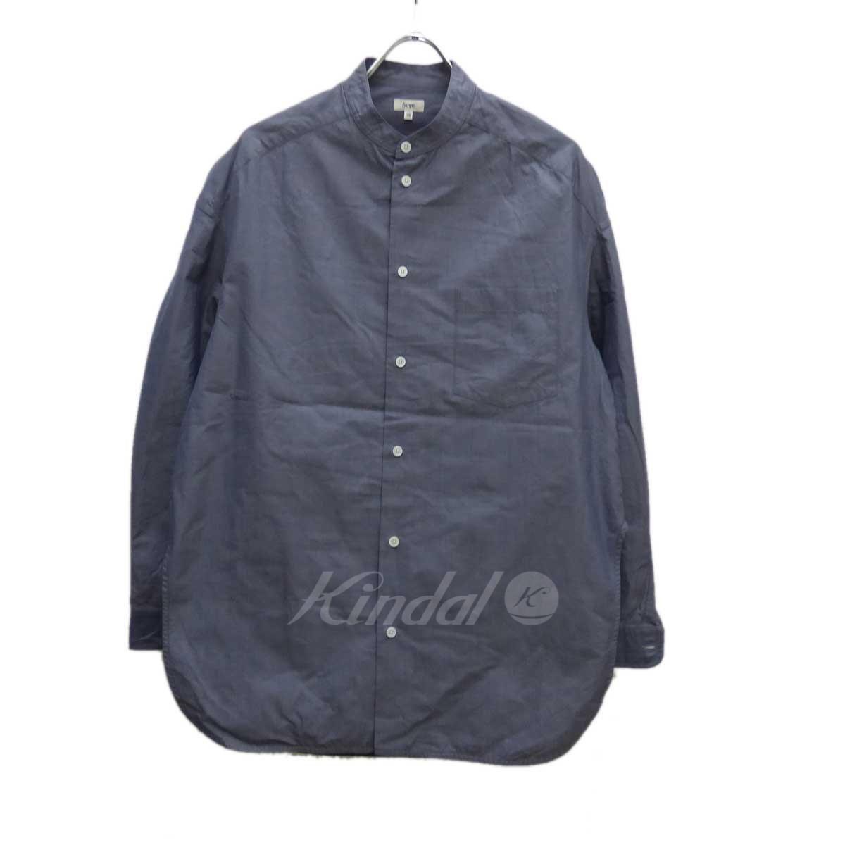 【中古】SCYE バンドカラービッグシャツ 【送料無料】 【179732】 【KIND1641】