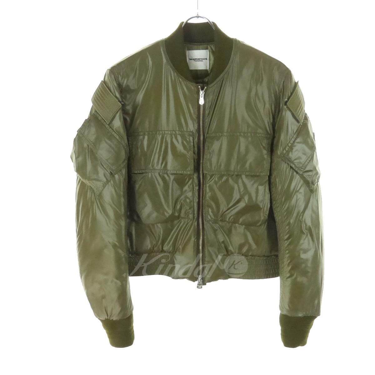 【中古】TAKAHIROMIYASHITA TheSoloIst. soloist flight jacket type2  17AW カーキ サイズ:46 【291118】(タカヒロミヤシタザソロイスト)