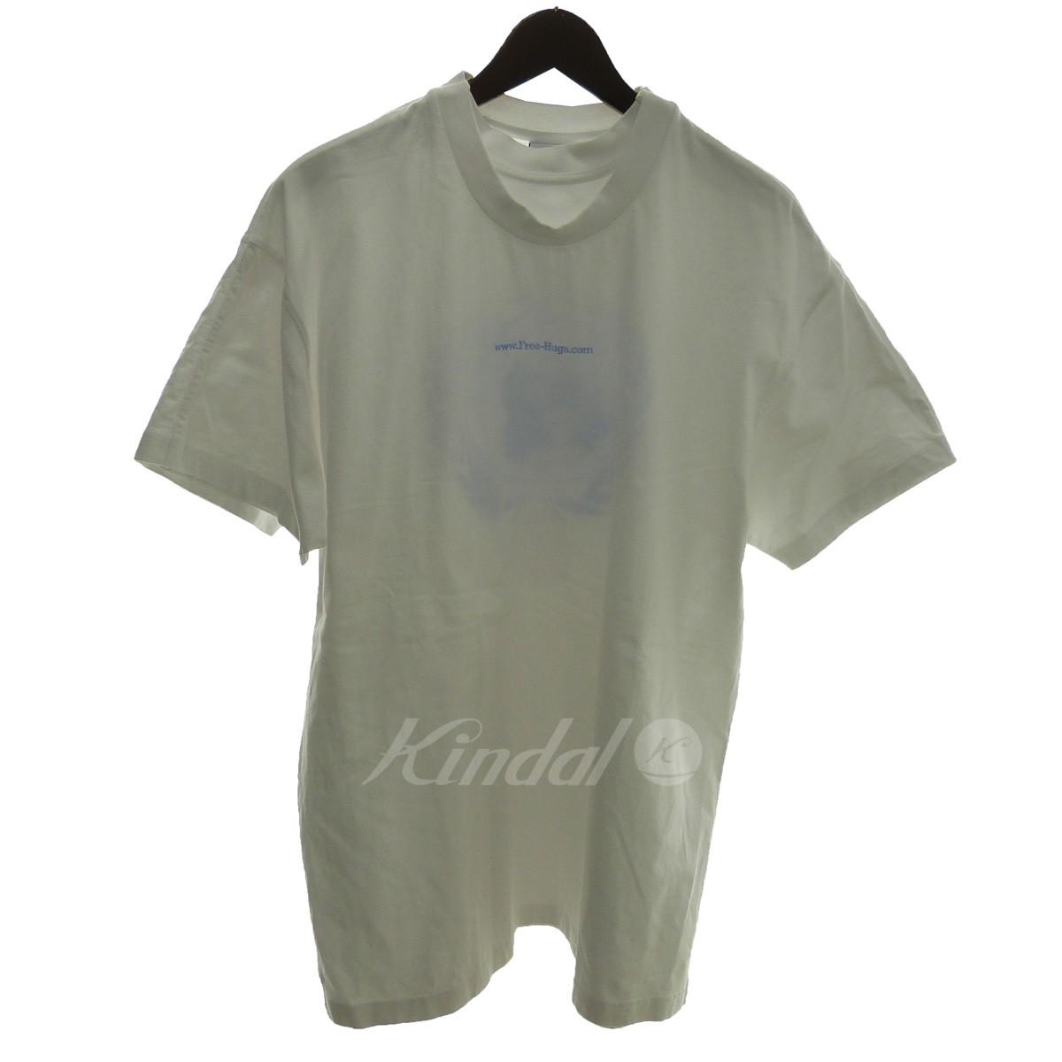 【中古】VETEMENTS 「Free Hugs Proverb Print Layered T-shirt」フリーハグTシャツ 【送料無料】 【116818】 【KIND1641】