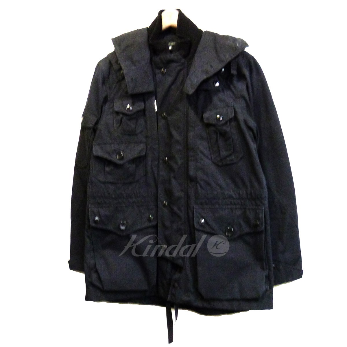 【中古】Engineered Garments 「CLUISER PARKA」 フードブルゾン 【送料無料】 【052957】 【KIND1550】