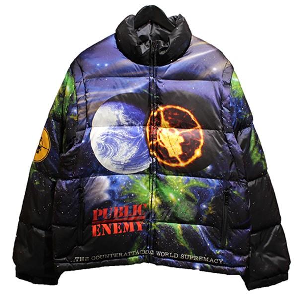 【中古】Supreme×UNDER COVER 18SS Public Enemy Puffy Jacket パブリックエナミー ダウンジャケット 【送料無料】 【000601】 【KIND1550】