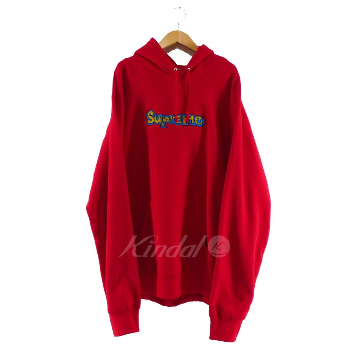 【中古】SUPREME 2018SS Gonz Logo Hooded Sweatshirt 【送料無料】 【088117】 【KIND1550】