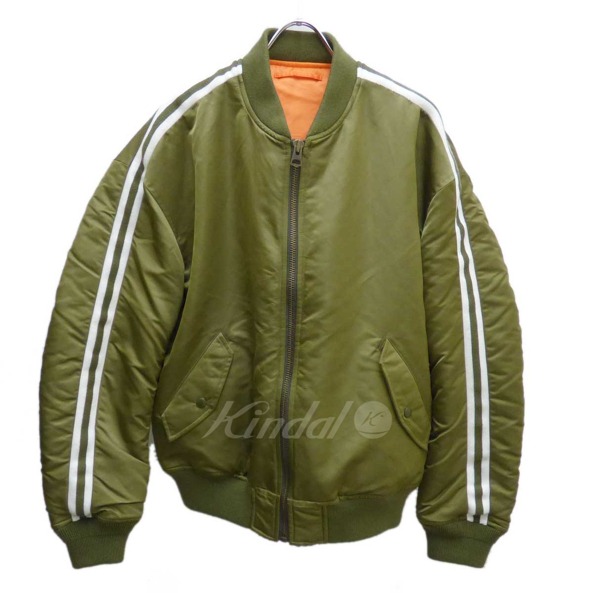 【中古】MR.GENTLE MAN LINE MA-1 JACKET 【送料無料】 【101719】 【KT1544】 【返品不可】