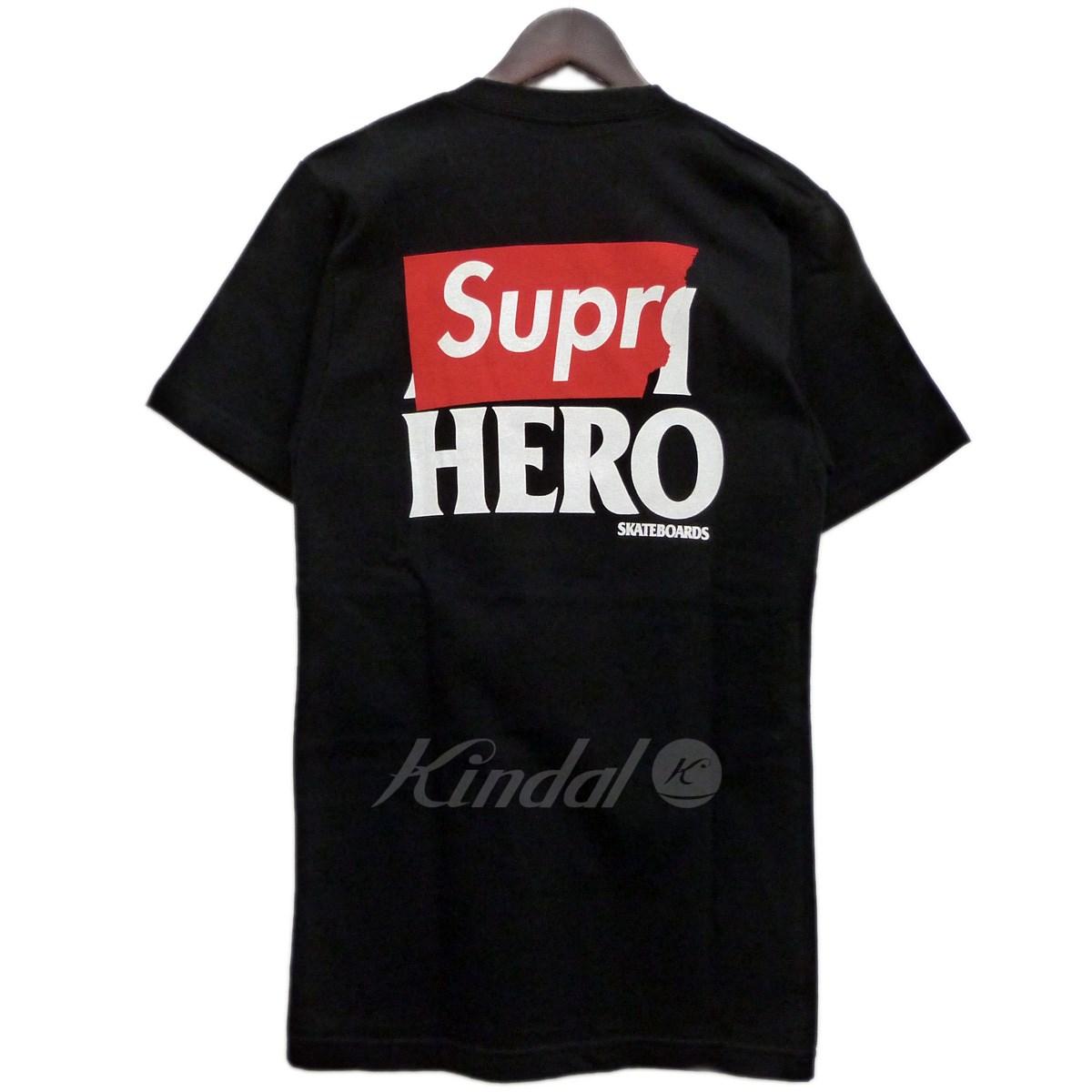 【中古】Supreme x ANTI HERO 14SS「Logo Pocket Tee」バックロゴポケットTシャツ 【送料無料】 【137919】 【KIND1641】