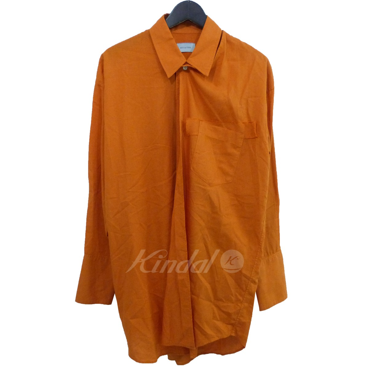 【中古】BED J.W. FORD 18AW 「Cape Shirt」ケープシャツ 【送料無料】 【157148】 【KIND1551】