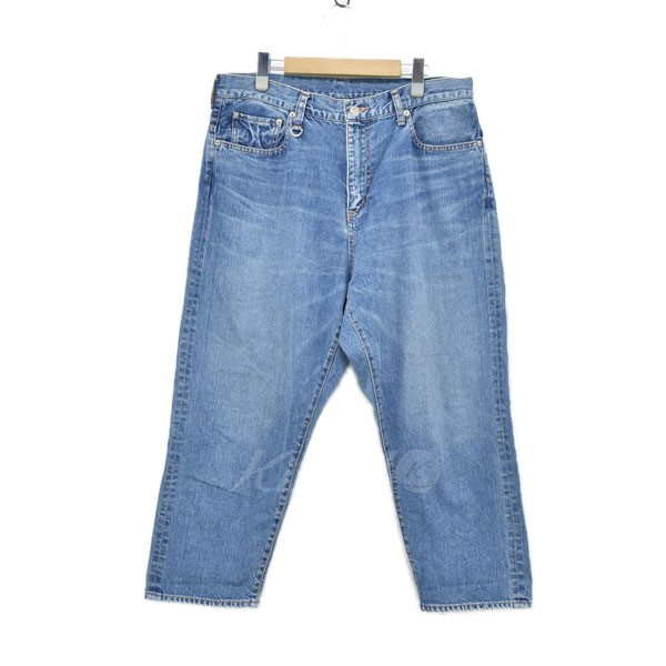 【中古】SOPHNET. 17AW CROPPED WIDE TAPERD DAMEGED DENIM デニムパンツ 【送料無料】 【107472】 【KIND1641】