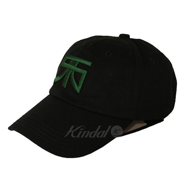 RAF SIMONS 2018AW Baseball cap with RS embroidery baseball cap black size   - (rough Simmons) 2cabbd59ae8