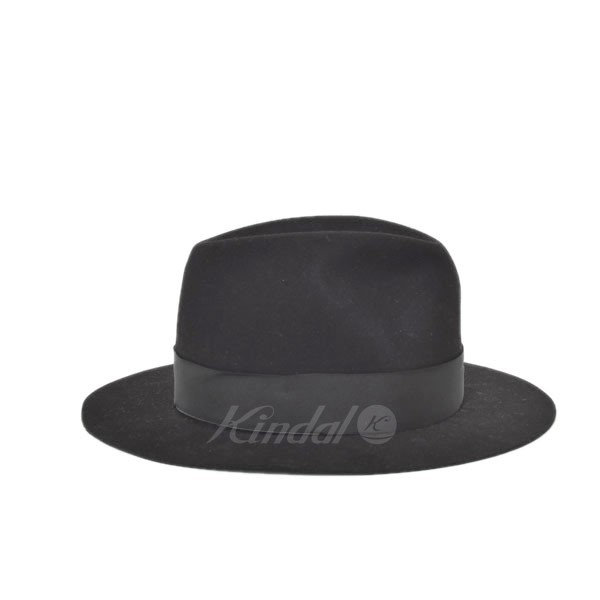 ed6494a18dfc77 ... The FRANKLIN TAILORED Beaver Hat beaver hat black size: 58cm (Franklin  tailored) ...