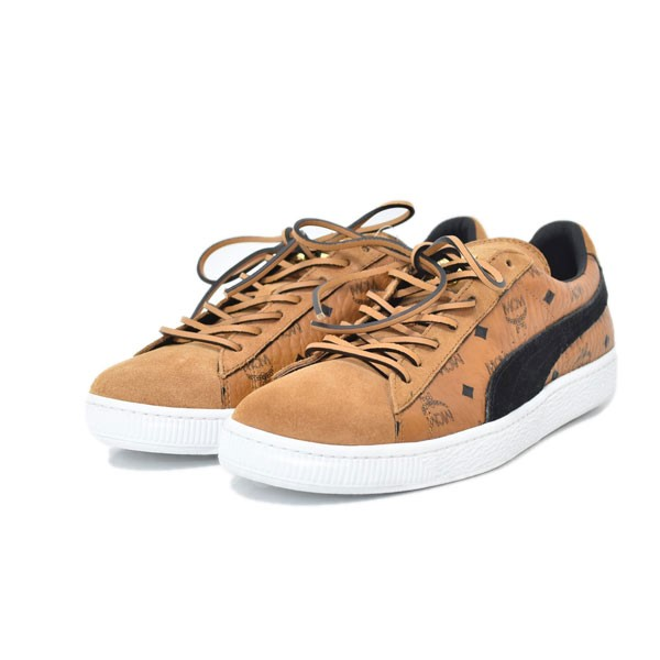 reputable site 7f477 3c5bf PUMA X MCM 18SS sneakers SUEDE CLASSIC suede classical music 366,299-01  Minamisenba store OPEN memory sale