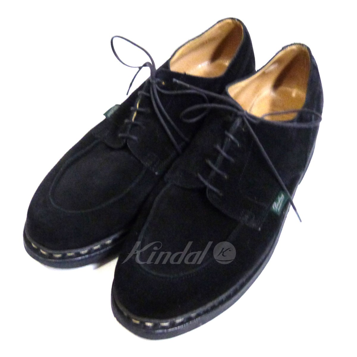 【中古】Paraboot × BEAUTY&YOUTH UNITED ARROWS 「CHAMBORD」Uチップスウェードシューズ 【送料無料】 【049599】 【KIND1641】