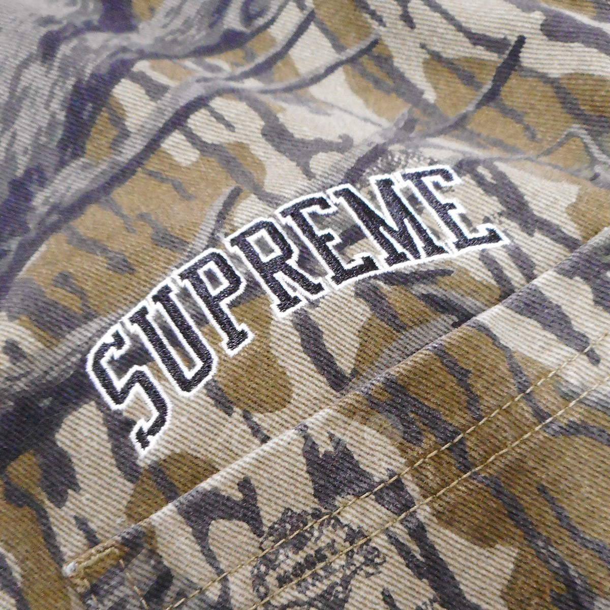 841ecac659d7 SUPREME 18AW Coveralls Mossy Oak Camo camouflage pattern filler  オールインワンモッシーオークカモ (olive) size  M (シュプリーム)