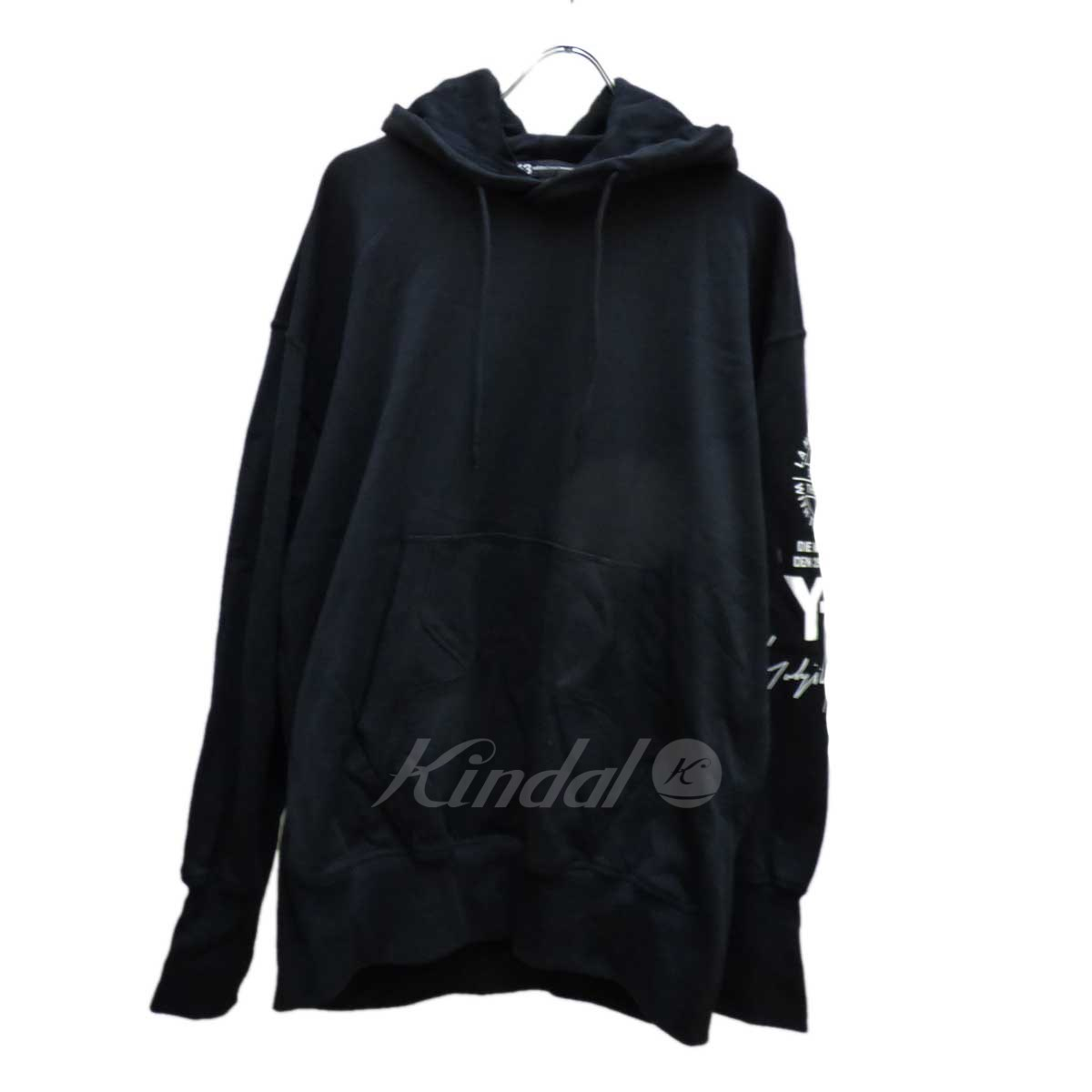 【中古】Y-3×adidas GRAPHIC HOODED PARKA パーカー 【送料無料】 【183753】 【KIND1551】