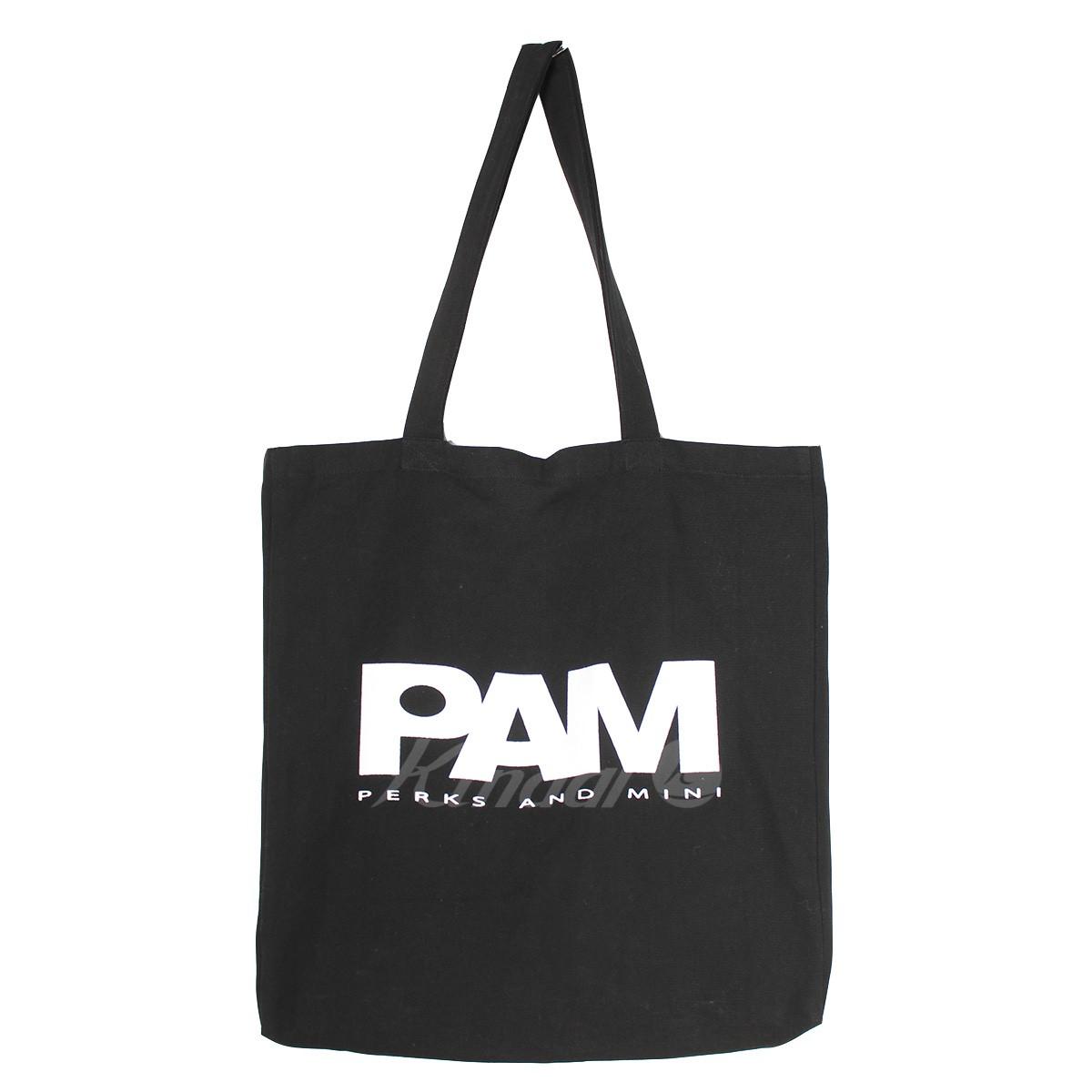 【中古】PAM 18SS ビッグロゴキャンバストートバッグ 【送料無料】 【009262】 【KIND1641】