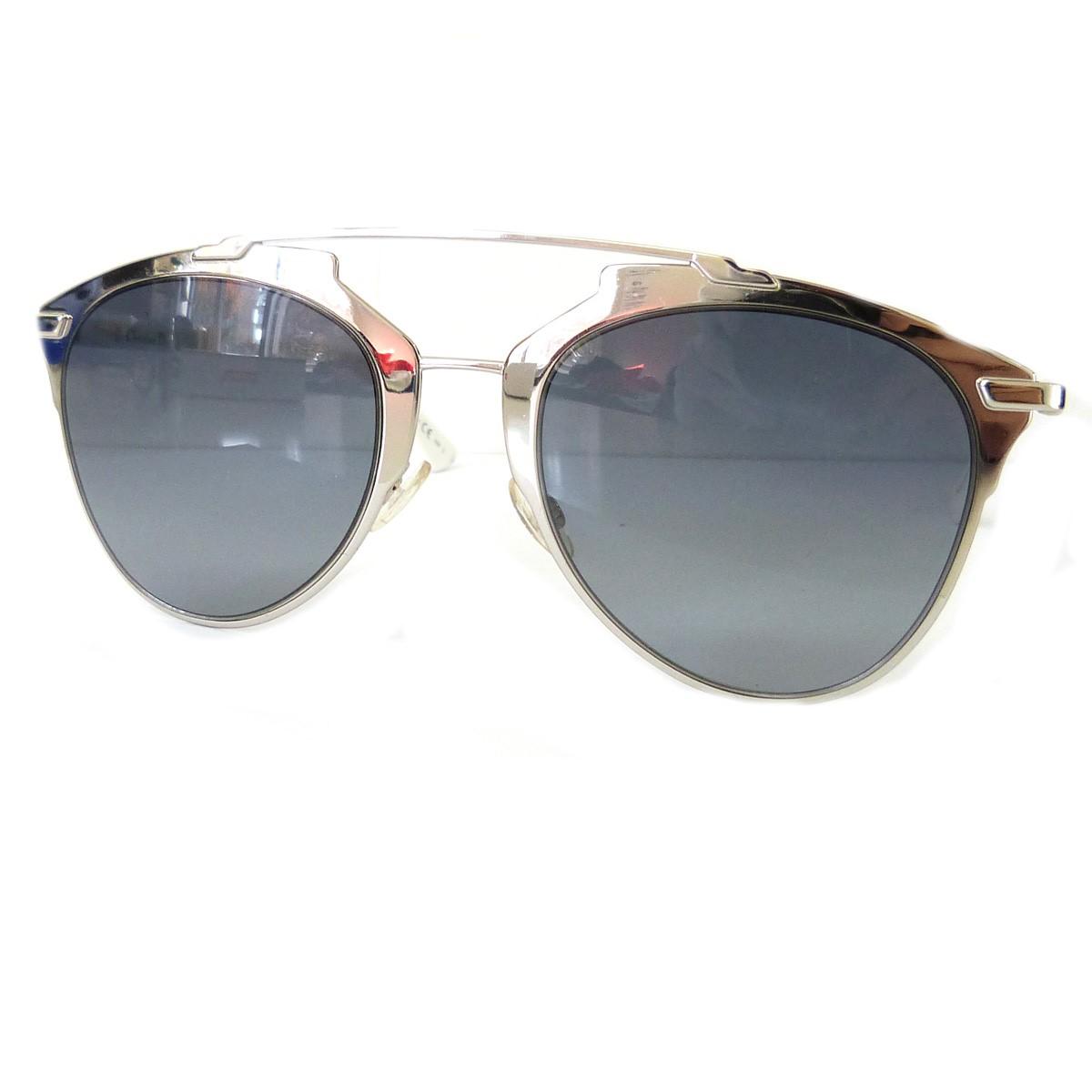 【大放出セール】 【中古】Christian Dior 「85LHD」サングラス ブラックxシルバーxホワイト サイズ:52□21【送料無料】 Dior【131218】(クリスチャンディオール), Deal:5332705b --- totem-info.com