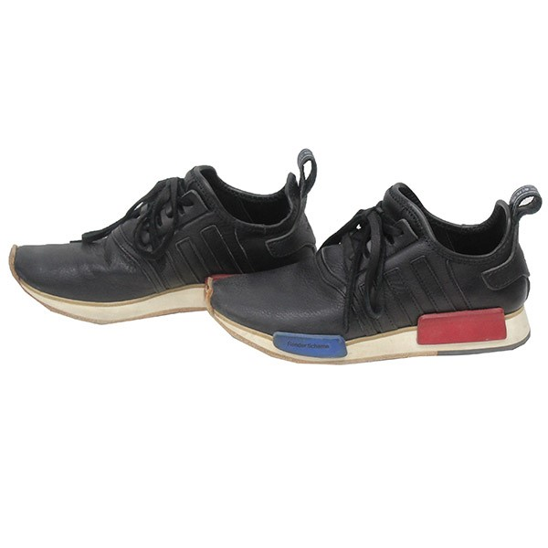 90eb3e46f Hender Scheme X adidas CJ5746 NMD R1 HS leather sneakers black size  26cm