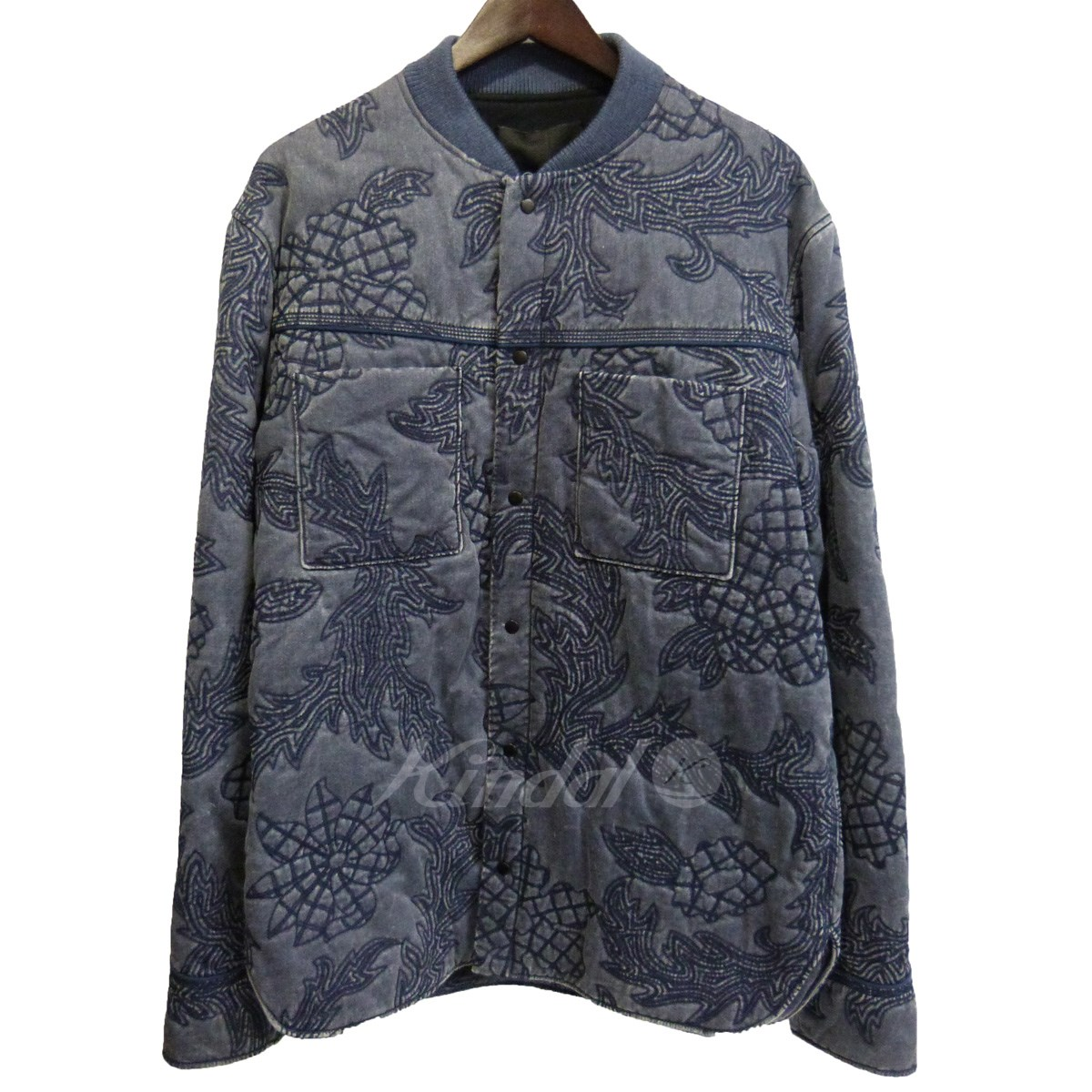 【中古】3.1 phillip lim 14AW 「quilted western shirt jacket」 デニム中綿ブルゾン 【送料無料】 【023773】 【KIND1551】