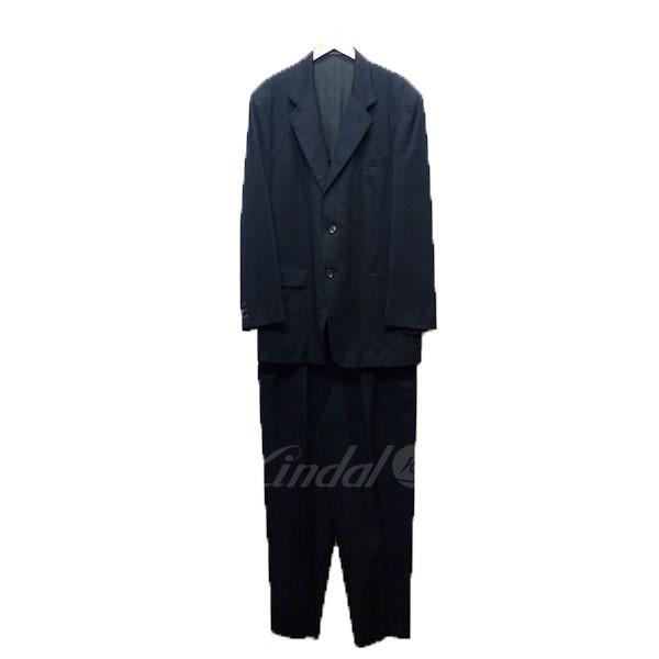 【中古】Yohji Yamamoto COSTUME D' HOMME ヨウジヤマモト コスチューム ドオム セットアップ スーツ 【送料無料】 【003854】 【KIND1551】