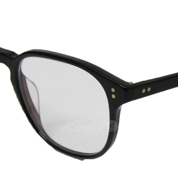 13c35bb5a7a OLIVER PEOPLES Fairmont Date glasses glasses glasses black X clear size  49  □ 21 145 (Oliver people)
