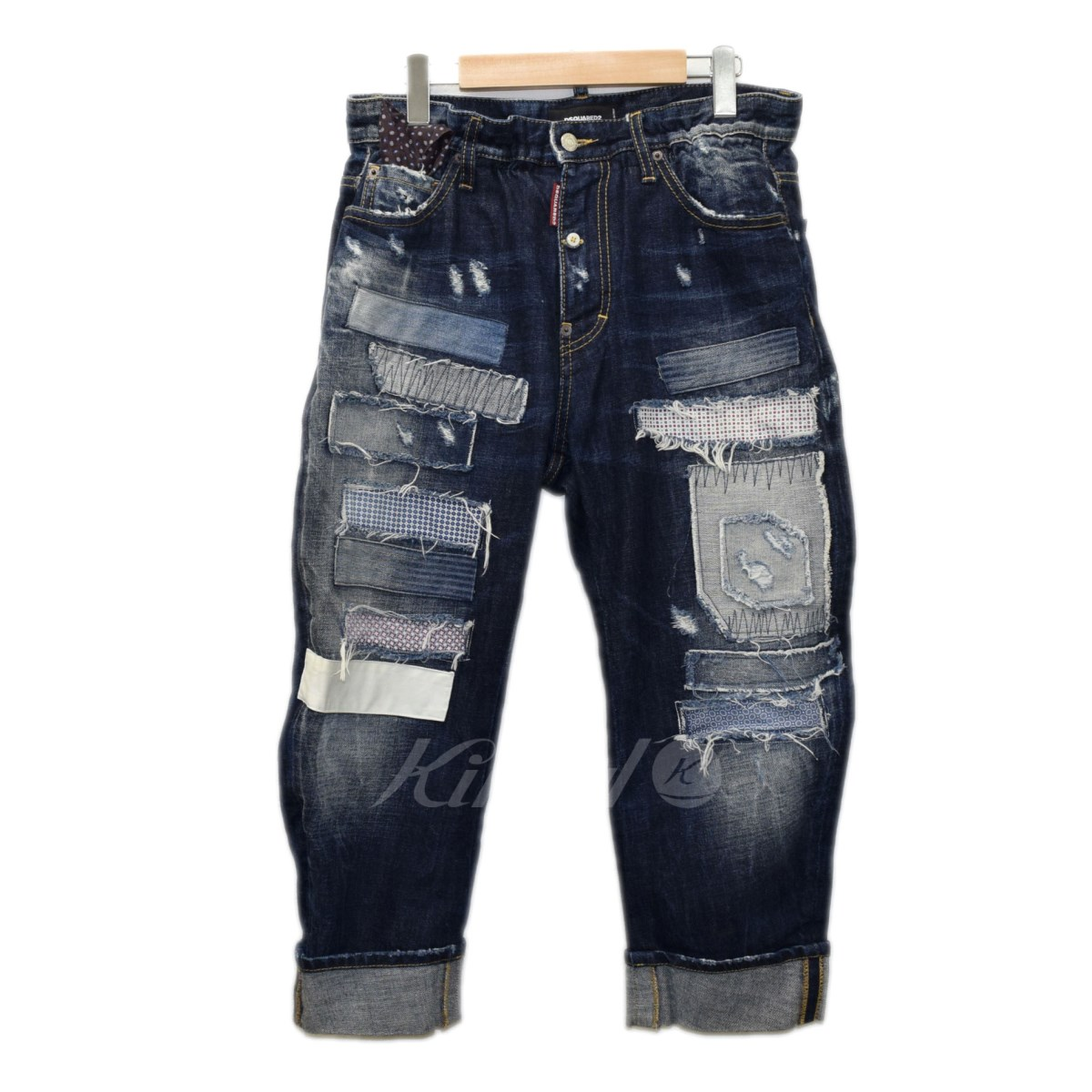 【中古】DSQUARED2 Big Deans Brother jean リメイクデニム 【送料無料】 【001134】 【KIND1641】