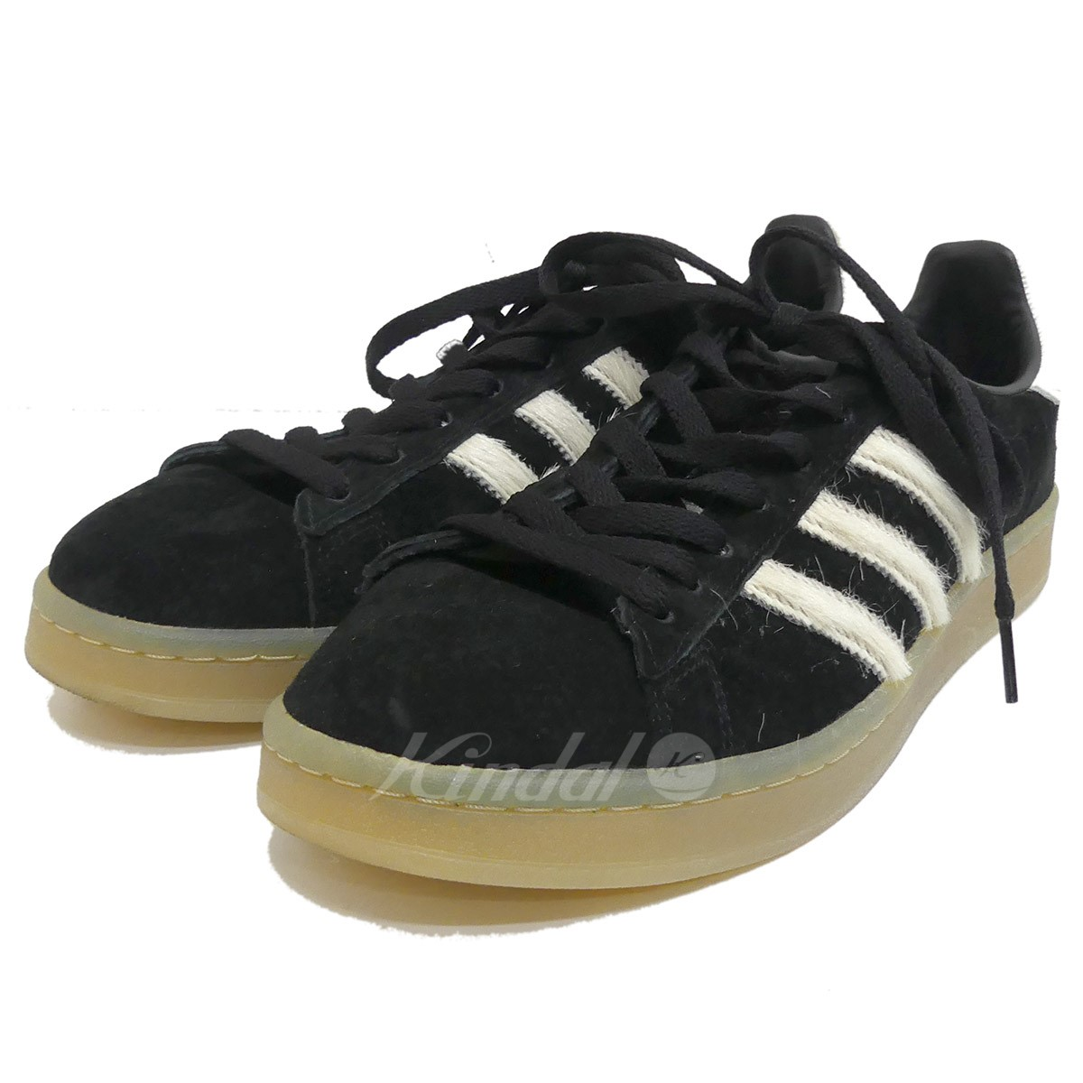best loved 204b2 43188 Low-frequency cut sneakers ADIDAS CAMPUS CORE BLACKVINTAGE WHITE black  size US9