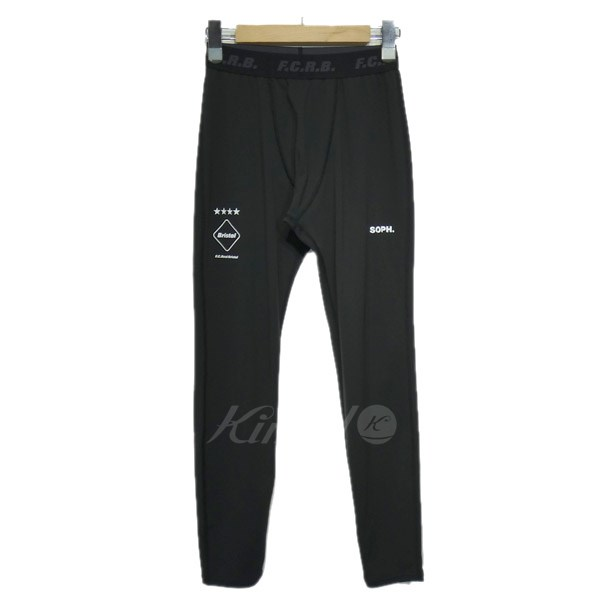【中古】F.C.R.B. 2018AW「UNDER LAYER TIGHTS」レギンスパンツ 【送料無料】 【127113】 【KIND1551】