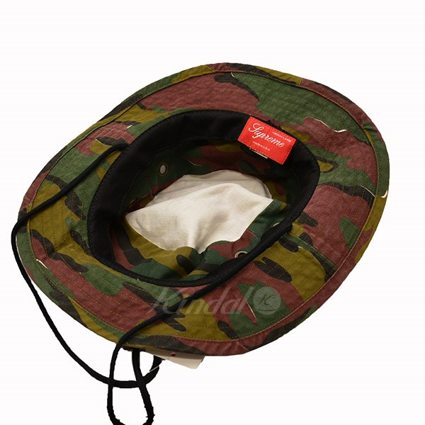 Supreme 2018SS Military Boonie Hat camouflage hat camouflage multicolored  size  M L (シュプリーム) 5fa44d94a37